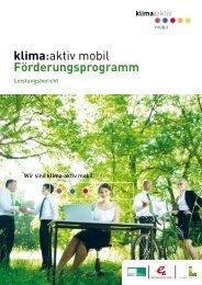 klima:aktiv mobil Förderungsprogramm - Lebensministerium