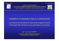 T - Dipartimento di Analisi e Progettazione Strutturale - Università ...