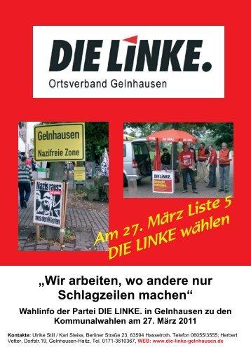 Flyer [pdf] - DIE LINKE. Main-Kinzig