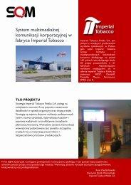 System multimedialnej komunikacji korporacyjnej w fabryce ... - SQM