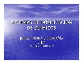 EQUIPOS DOSIFICACION QUIMICOS.pdf - Soluciones Virtuales