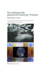 Kunsthal Glas - Bevaringsforeningen for Præstø og omegn