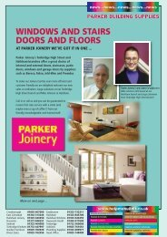 windows and stairs doors and floors - Parker Building Supplies