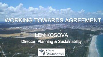 Len Kosova, City of Wanneroo