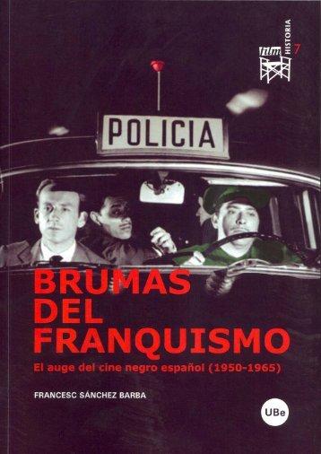 brumas del franquismo - Publicacions i Edicions de la Universitat de ...