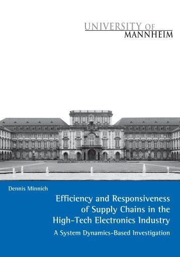 Efficiency and Responsiveness of Supply Chains in the ... - MADOC