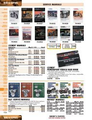 Tools & Supplies - Harley-Davidson® Parts and Accessories