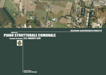 piano strutturale comunale - Pianificazione Territoriale - Comune di ...