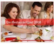 De Restaurantgast 2008 - Van Spronsen en Partners