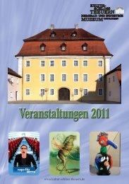 Veranstaltungen 2011 - Kultur-Schloss Theuern