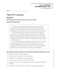 Figurative Language - Macmillan/McGraw-Hill