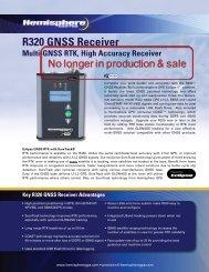 R320 GNSS Receiver - Cadden