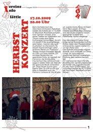Ausgabe 03/2009 - Akkordeon Orchester Radolfzell