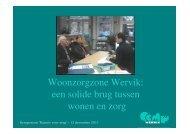Woonzorgzone Wervik: een solide brug tussen wonen en zorg