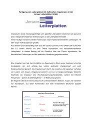Fertigung von Leiterplatten mit definierten Impedanzen in ... - FED-Wiki