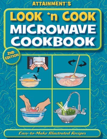 Look 'n Cook Microwave Cookbook - Attainment Company