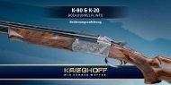 K-80 & K-20 -  Krieghoff