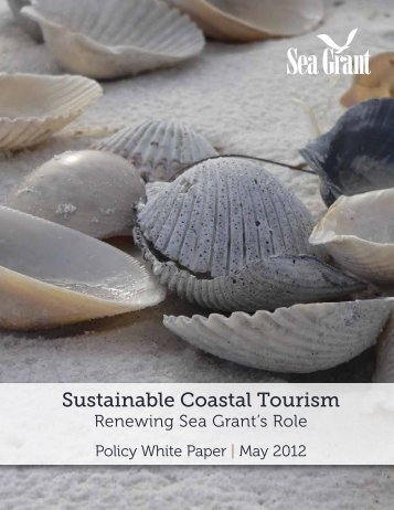 Sustainable Coastal Tourism - Delaware Sea Grant