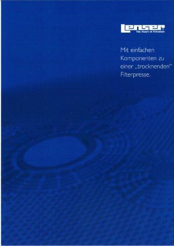 EIIEEIE - Lenser Filtration GmbH + Co.