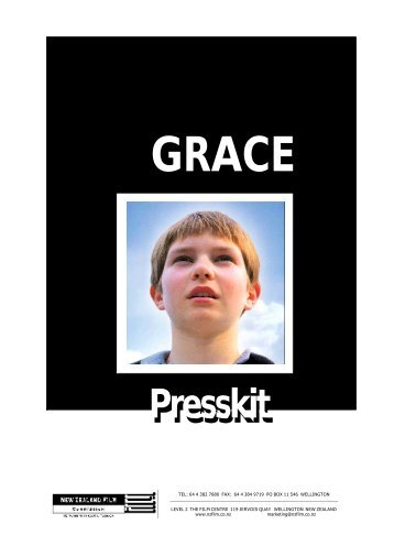 Grace Press Kit - New Zealand Film Commission