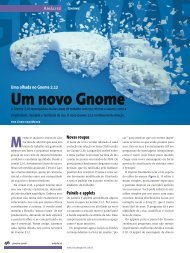 Um novo Gnome - Linux New Media