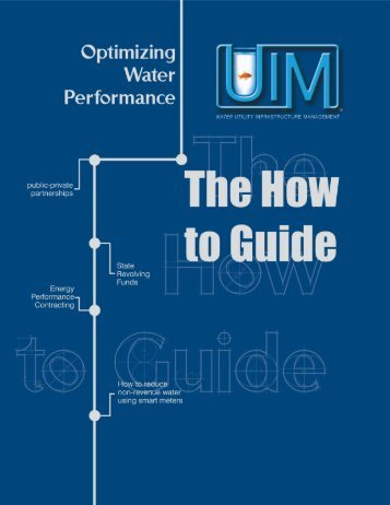 Water Utility Infrastructure Management