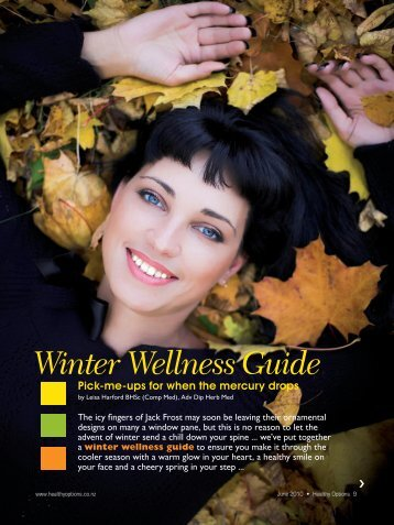 Winter Wellness Guide - Healthy Options magazine