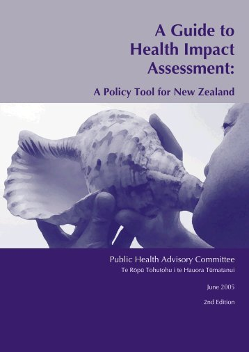 Guide to HIA - Public Health Association of New Zealand