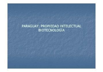 paraguay: propiedad intelectual biotecnología - Mercosoja 2011