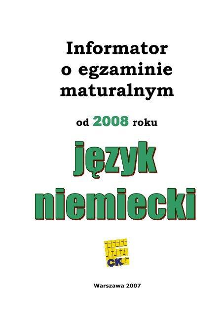 Jä Zyk Niemiecki Oke Poznaå Poznan Pl