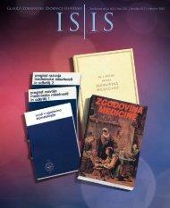 ISIS - Oktober 2012 - Zdravniška zbornica Slovenije