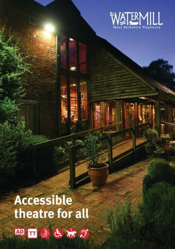 download our comprehensive access guide here - The Watermill ...