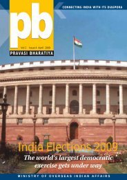 India Elections 2009 - Overseas Indian