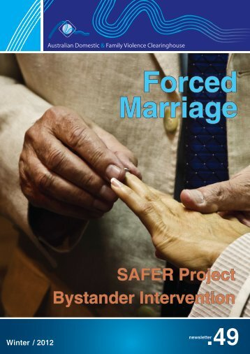 SaFer Project Bystander Intervention - Australian Domestic and ...