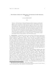 Discriminant Analysis for Multivariate Non-Gaussian Locally ...