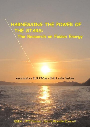 HARNESSING THE POWER OF THE STARS: - ENEA - Fusione