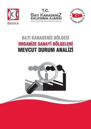 OSB Mevcut Durum Analizi - Batı Karadeniz Kalkınma Ajansı