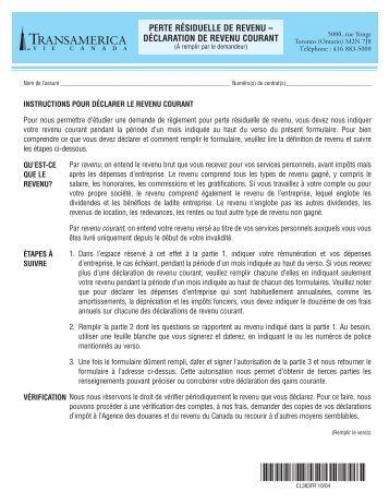 Demande de changement d 39 adresse agence du revenu du canada for Declaration de changement d adresse