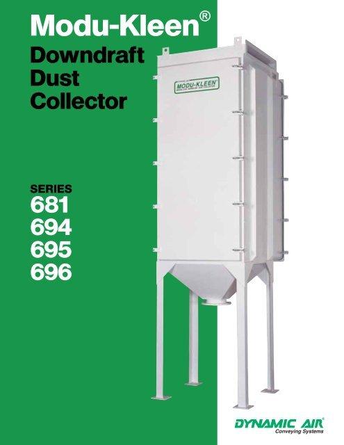Modu-Kleen® Downdraft Dust Collector Series ... - Dynamic Air Inc.