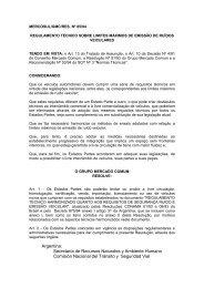 85/94 - Mercosur