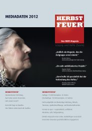 Download Mediadaten 2012 gesamt - HERBSTFEUER