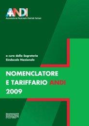 tariffario andi (489,7Kb) - OMCEO Udine