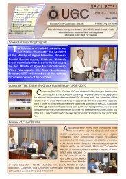Issue 02 - May, 2008 - University Grants Commission - Sri Lanka