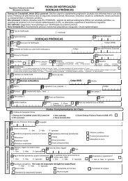 Ficha de Notificação de Doenças Priônicas
