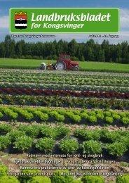 Landbruksbladet 2011 - Kongsvinger Kommune