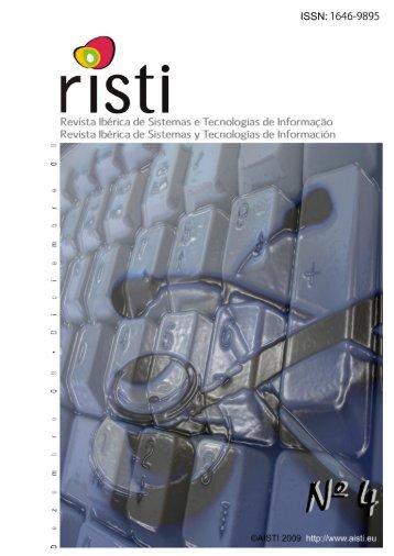 RISTI - Revista Ibérica de STI, Nº 2 - AISTI