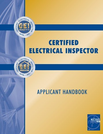 Certified Electrical Inspector - WV State Fire Marshal