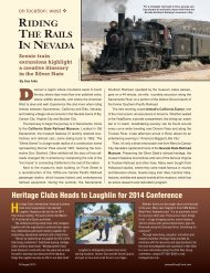 Riding the Rails in Nevada - Leisure Group Travel