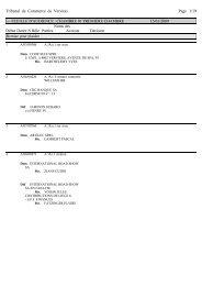 Tribunal de Commerce de Verviers Page 1/19 --- FEUILLE D ...