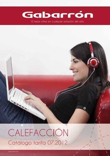 Catálogo calefacción tarifa 2012-2013 - Interempresas